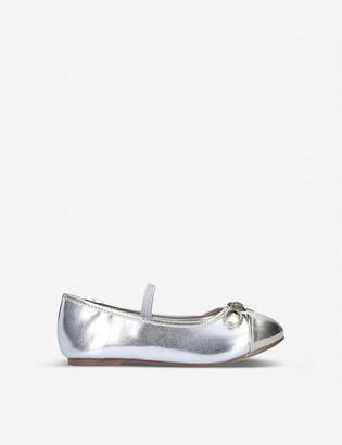 Kurt Geiger Mini Esme metallic Mary Jane Shoe Ages 2-7