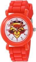 Marvel Boy's 'Guardian' Quartz Plastic and Silicone Casual Watch, Color: (Model: WMA000146)