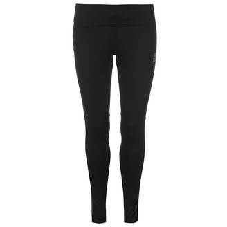 Karrimor Womens X Running Tights Pants Trousers Bottoms Drawstring Training Black 8 (XS)