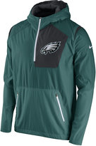 Nike Men's Philadelphia Eagles Vapor Speed Fly Rush Hooded Jacket