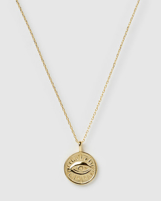 Izoa Evil Eye Pendant Necklace