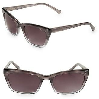 Colors In Optics Brickell 55MM Small Cat Eye Sunglasses