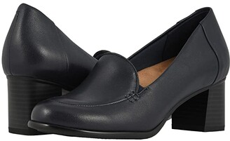 Trotters Quincy (Black Soft Nappa Leather) Women's Shoes