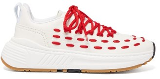 Bottega Veneta Speedster Leather Trainers - Red White