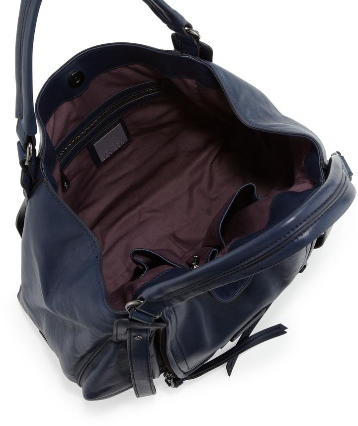 Kooba Jonnie Hobo Bag, Navy