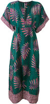 Vix Paula Hermanny tropical print long kaftan - women - Silk/Cotton - M