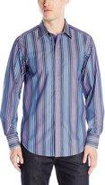 Robert Graham Men's Bumbles Long Sleeve Woven Shirt