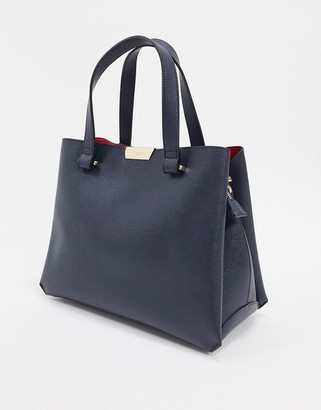 Dune tiella unstructured tote bag