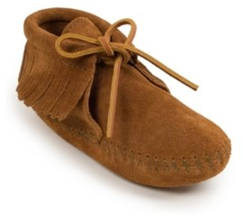 Minnetonka Toddler Girls Classic Fringe Soft Sole Boot