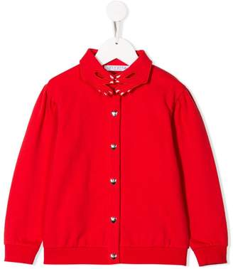 Vivetta Kids hands collar cardigan