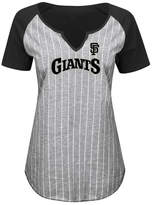 Profile Women's San Francisco Giants From The Stretch Plus Size T-Shirt