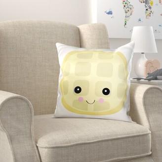 Zoomie Kids Brookwood Cute Kawaii Waffle Pillow Cover