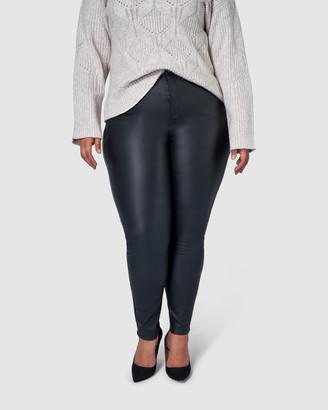 Something 4 Olivia Gabrielle Lift & Shape Coated Jeans