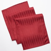 Cuisinart Basketweave Stain-Resistant Microfiber Table Runner - 72""