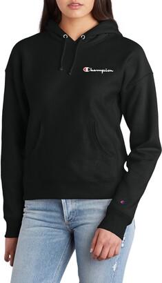 Champion Logo Drawstring Hoodie