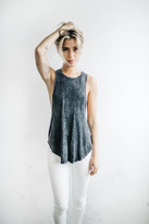 Joah Brown - Lazy Day Tank In Wash Graphite