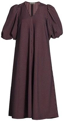 Stine Goya Dream Extreme Mavelin Check Shift Dress
