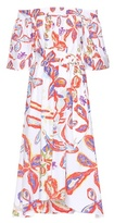 Peter Pilotto Printed off-the-shoulder dress