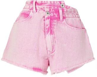 Ground Zero Wrap Denim Shorts