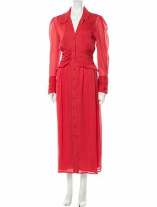 REJINA PYO 2019 Long Dress w/ Tags Red