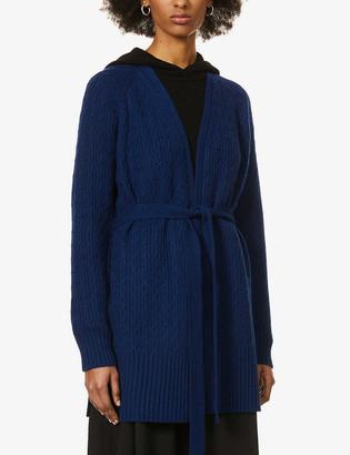 Theory Malinka belted cashmere cardigan