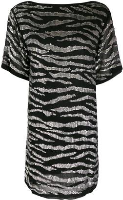 P.A.R.O.S.H. Tiger Stripes Dress