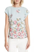 Ted Baker Women's Soma Patchwork Woven Front Tee