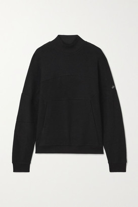 Alo Yoga Segment Fleece Sweatshirt - Black