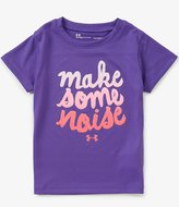 Under Armour Baby Girls 12-24 Months Make Some Noise Short-Sleeve Tee