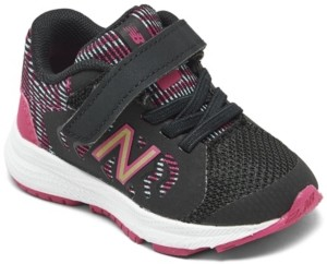 New Balance Toddler Girls 519V2 Stay-Put Closure Training Sneakers from Finish Line