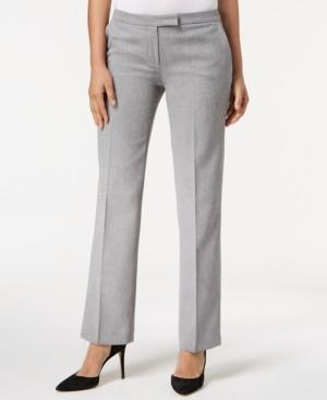 Kasper Petite Straight-Leg Modern Dress Pants