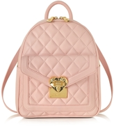 Love Moschino Heart Quilted Eco Leather Small Backpack