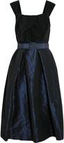 Vivienne Westwood Moon silk crepe de chine and taffeta dress