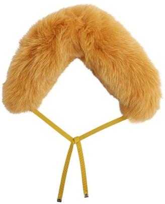 Moncler Fox Fur Collar