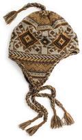 Muk Luks Women's Geometric Tassel Helmet