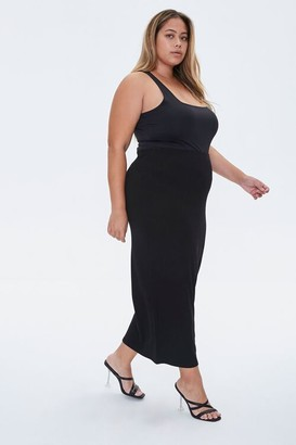 Forever 21 Plus Size Maxi Pencil Skirt