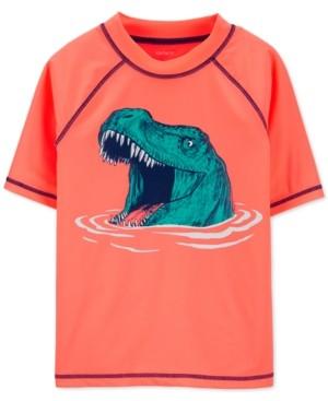 Carter's Toddler Boys Dino Short-Sleeve Rash Guard