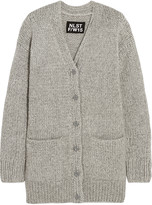 Nlst Fisherman oversized chunky-knit cardigan