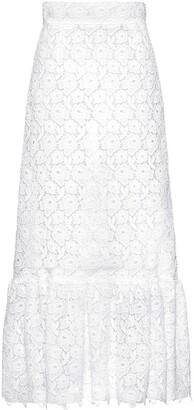 Miu Miu Macrame Rose Skirt