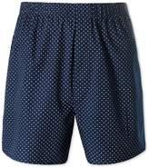 Charles Tyrwhitt Navy Dot Woven Boxers Size Large