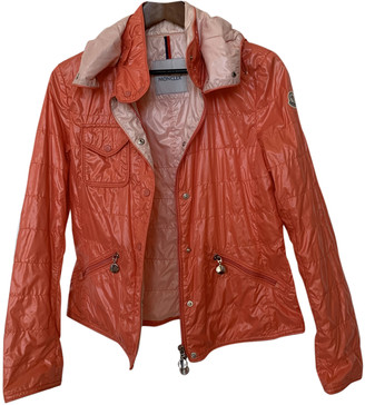 Moncler Orange Polyester Jackets