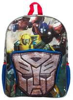 "Transformers 16"" Kids' Backpack with Lights - Blue/Black"