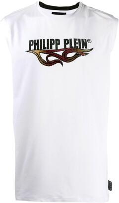 Philipp Plein Tank top Flame