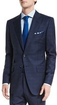 Tom Ford O'Connor Base Mini Prince-of-Wales Wool Two-Piece Suit, Navy