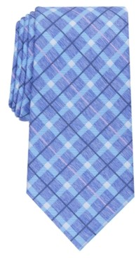 Perry Ellis Men's Loggan Check Tie