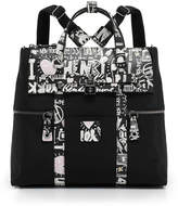Henri Bendel Jetsetter Convertible Graffiti Print Backpack