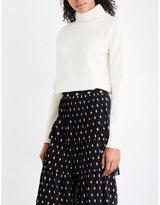 Vilshenko Camile wool and cashmere-blend turtleneck jumper