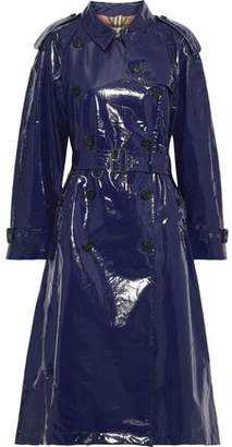 Burberry Glossed-cotton Trench Coat