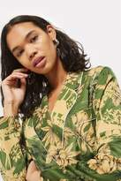 Petite tropical print pyjama jacket