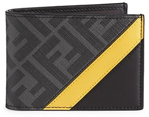 Fendi Slim FF Logo Wallet